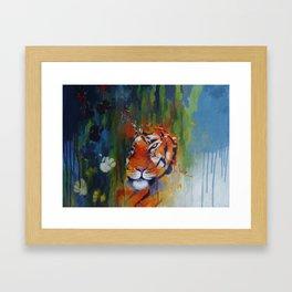 The protractor  Framed Art Print