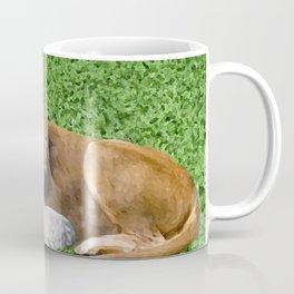 Lion and Lamb Coffee Mug