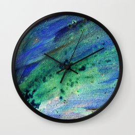 Abstract colorful painting Wall Clock