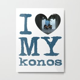 Love Mykonos Metal Print