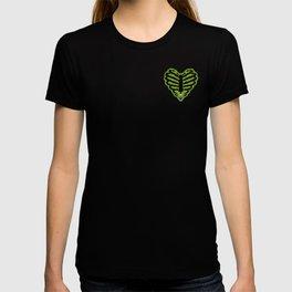 Self Titled Skeleton Heart T-shirt