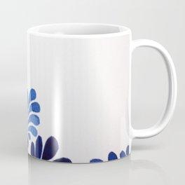 Blue Leaf Coffee Mug