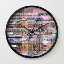 Urban Glitch Wall Clock