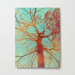 Swinging tree Metal Print