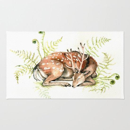 Sleeping Deer Rug