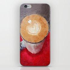 I Heart Coffee iPhone & iPod Skin