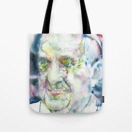 POPE FRANCIS - watercolor portrait.3 Tote Bag