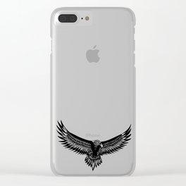 Wild eagle ecopop Clear iPhone Case