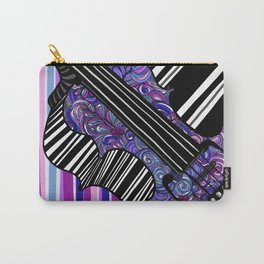 Study in the key of Purple - cello Carry-All Pouch