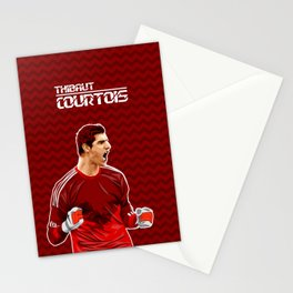 Thibaut Courtois Stationery Cards