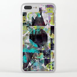 Infectious Infrastructure Clear iPhone Case