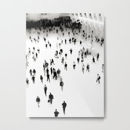 Connect the Dots at the Oculus New York Metal Print