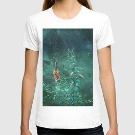 Fairy Flowers in the Jade Moonlight T-shirt