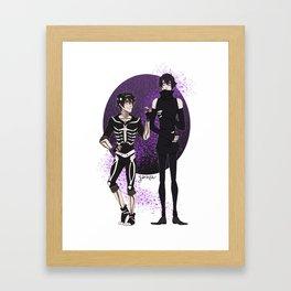 Skelender Framed Art Print