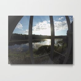 Swamps and Ponds Metal Print