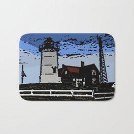 The lighthouse  Bath Mat