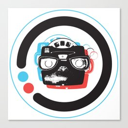 viewmaster 3D Canvas Print