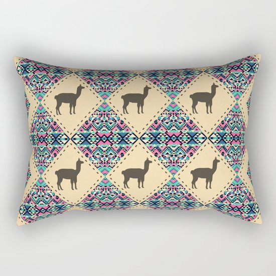 Andes pattern Rectangular Pillow