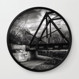 On the Trail 1 Wall Clock
