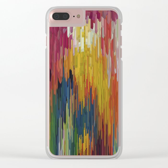 Abstract painting 112 Clear iPhone Case