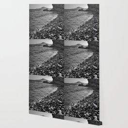 Carnaje Beach. Bw Wallpaper