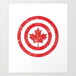 American Canadian Tungsten United States Gift Dart Canada Art Print