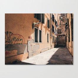HIDDEN // Venice, Italy Canvas Print