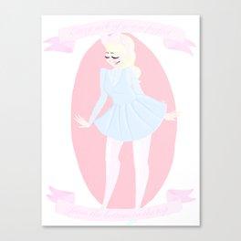 No Treble Canvas Print