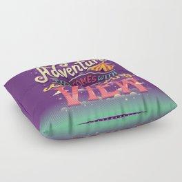 Tightrope Floor Pillow