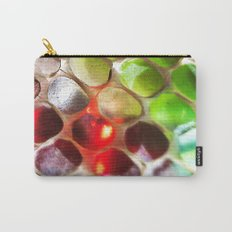 Snakeskin & Beads Carry-All Pouch