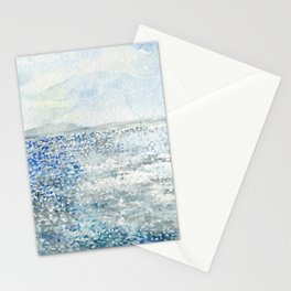 Sparkling Moment In Time Watercolor Painting Stationery Cards