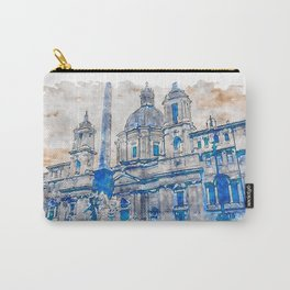 Rome, Piazza Navona Carry-All Pouch