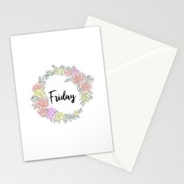 Friday fresh collection 2 Stationery Cards
