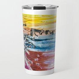 [Built To Fall] Art Print Travel Mug