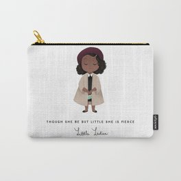 Little Lady Taupe Carry-All Pouch