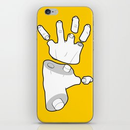 Puzzle Hands iPhone Skin