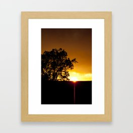 Sunspike Framed Art Print