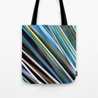 catcher in the rye Tote Bags featuring Beach Rye by artstrata