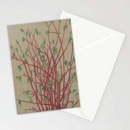 Red twigs Stationery Cards