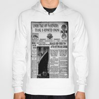 duvet cover Hoodies featuring THE HISTORY OF SHIP DUVET COVER by aztosaha