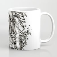 fairy Mugs featuring Fairy by Anca Chelaru