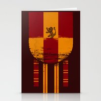 gryffindor Stationery Cards featuring gryffindor crest by nisimalotse