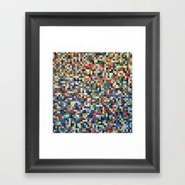 PIXELS 2 Framed Art Print