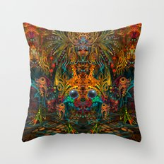 Lemuria Throw Pillow