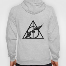 I Open At The Close Deathly Hallows Snitch Hoody