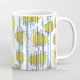 Spaceship Shapes Coffee Mug