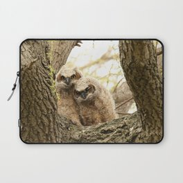 Rest your head on my shoulder Laptop Sleeve