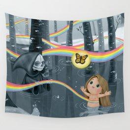 I Follow Rainbows Wall Tapestry
