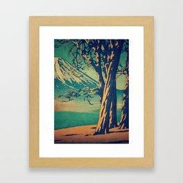 Late Hues at Hinsei Framed Art Print