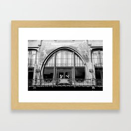 Art Nouveau in Antwerp Framed Art Print